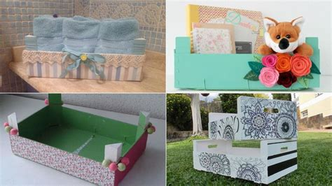 materiales para decorar cajas de madera ideas diy para reciclar cajas de madera hogarmania