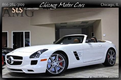 repair anti lock braking 2012 mercedes benz sls class interior lighting find used 2012 mercedes benz sls convertible designo mystic white 3800 miles bang olufsen in