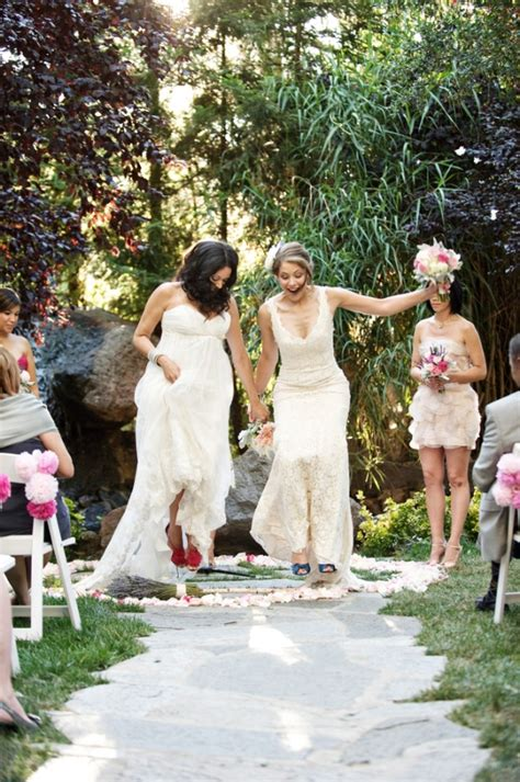 wedding traditions explained jumping the broom raymond jewelers