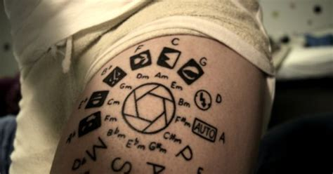 circle of fifths tattoo circle of fifths tattoos