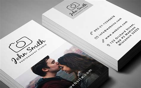 photographer business card template psd free 50 free world best creative business card design templates