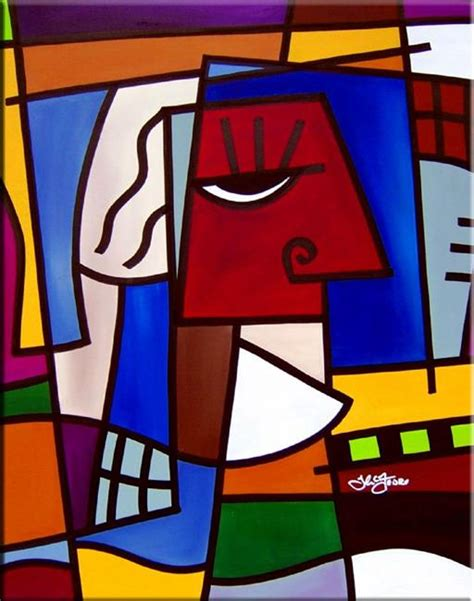 cubism movements in modern 1854372513 head games cubist 18 by thomas c fedro from contemporary cubism art gallery
