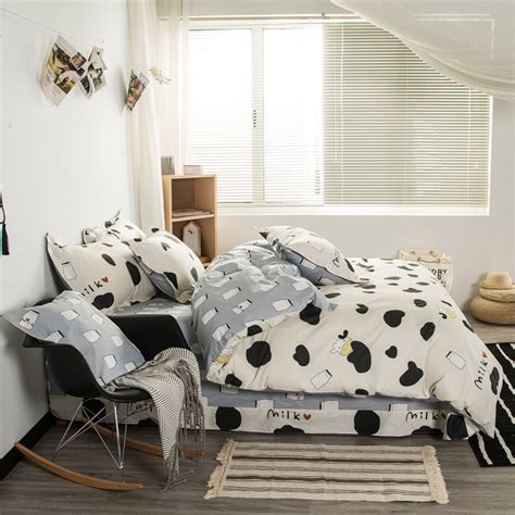 popular cow print bedding buy cheap cow print bedding lots