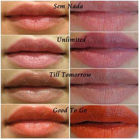 Mac Pro Longwear Lipstick Unlimited eu testei linha pro longwear da mac