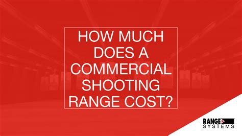 how much does a trained protection cost how much does a commercial shooting range cost range systems