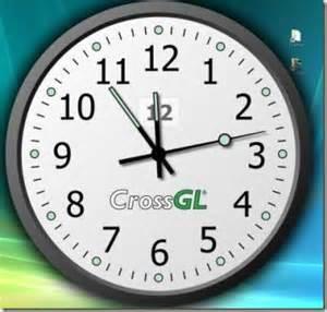 crossgl surface clock desktop clock