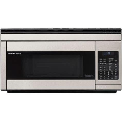 Microwave And Oven Sharp shop sharp 1 1 cu ft the range convection oven