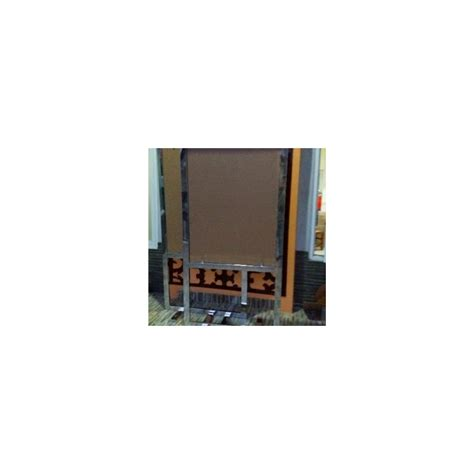 Pen Iklan Sign Board Baut Display Kaca Akrilik Uk 19 Mm X 3 T19 2 akrilikonline frame fb15