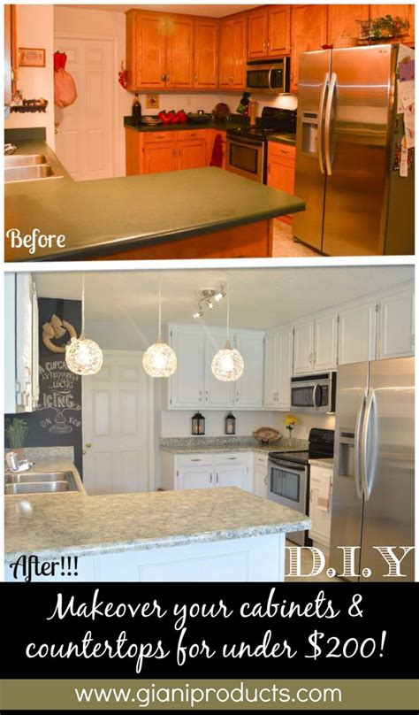 kitchen cabinets update ideas on a budget kitchen update on a budget diy paint kits to rev countertops and cabinets www gianigranite
