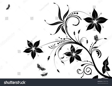 illustrator tutorial floral swirl ornaments butterfly floral ornament butterfly element design vector stock