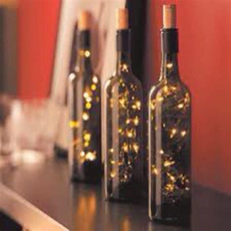 diy light up wine bottle light up wine bottles diy crafts pinterest
