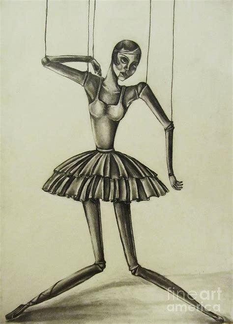 marionette drawing by hannah lane