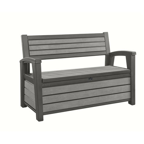 keter outdoor storage bench keter 227l hudson outdoor storage bench bunnings warehouse