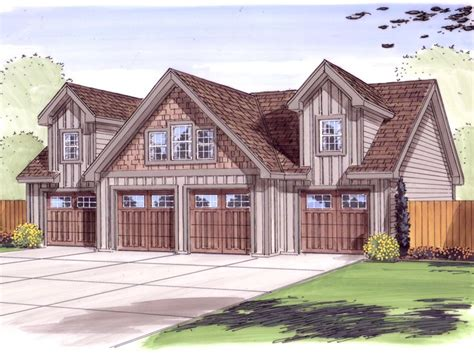 Four Car Garage Plans by Garage Loft Plans 4 Car Garage Loft Plan Design 050g