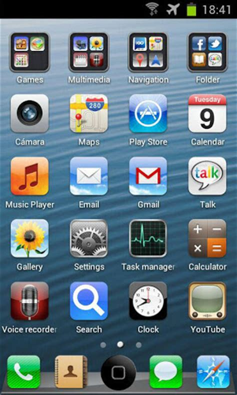 iphone themes for android iphone 5 ios6 go theme hd v1 0 android themes android mobile wallpapers apps free