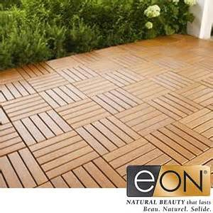 Patio Tiles Costco by Eon Deck And Balcony Tiles With Cedar Finish Costco Ottawa