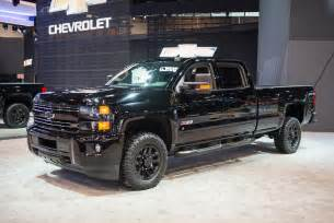 2016 silverado 2500 z71 midnight edition pics gm authority