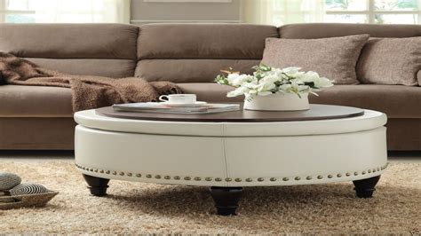 coffee table with ottomans under coffee table gallery collection round coffee table