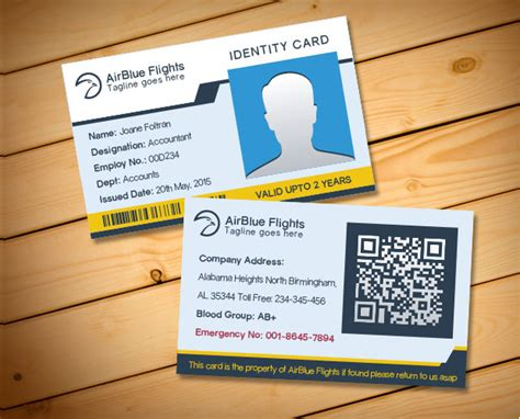 Id Card Template For Mac | 16 id card psd templates designs design trends