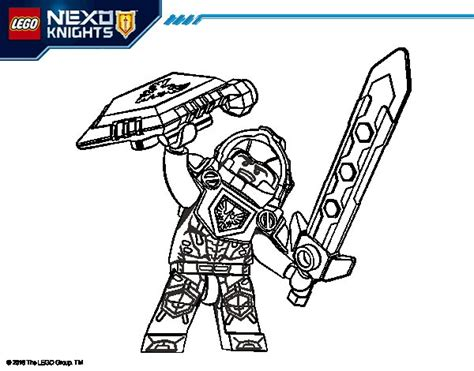 lego knight coloring page clay nexo knights coloring page coloringcrew com
