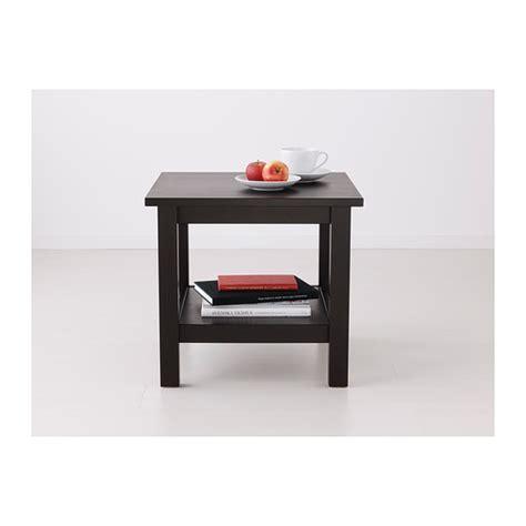 Hemnes Side Table Hemnes Side Table Black Brown 55x55 Cm Ikea