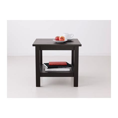 Ikea Hemnes Side Table Hemnes Side Table Black Brown 55x55 Cm Ikea