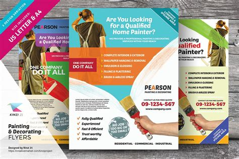 painting flyers templates free painting decorating flyers flyer templates creative