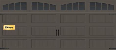 Do Insulated Garage Doors Make A Difference by Garage Door Clopay Gallery Panel With Arch Grilles
