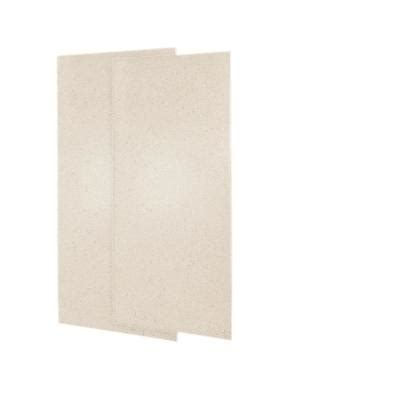 bathroom wall paneling home depot swanstone 36 in x 72 in two piece easy up adhesive