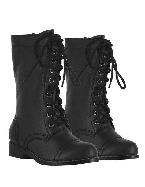 black toddler boots black tuffstuff boots costume craze