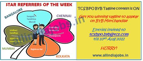 Mba In Tcs Kolkata by Tcs Bpo Openings 2012 Walk Ins From 23 July 27 July