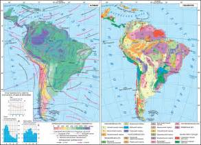 climate map of south america