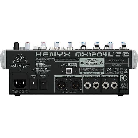Sale Mixer Behringer Xenyx Qx 1222 Usb 12 Channel behringer qx1204 usb xenyx 12 input mixer with klark