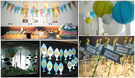 Fish Themed Baby Shower by Fish Baby Shower Theme Baby Shower Ideas
