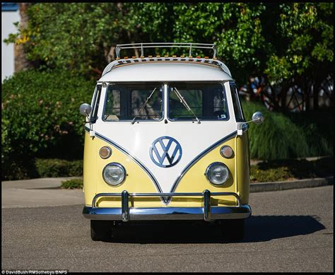 volkswagen hippie van vw cer van expected to sell for six figures in ca