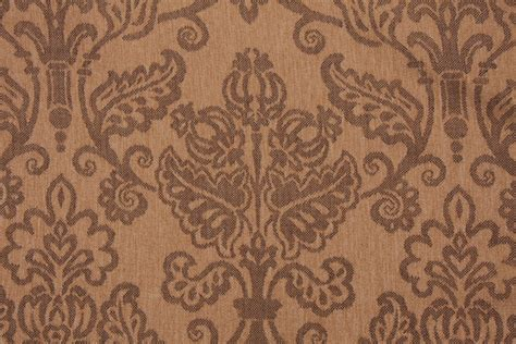 high end upholstery fabric remnants high end damask upholstery fabric in toffee 7 95 per yard