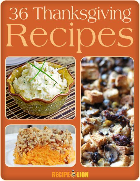 printable thanksgiving recipes 36 thanksgiving recipes free ecookbook recipelion com