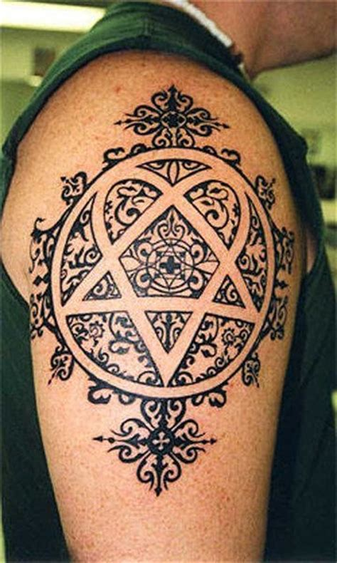 heartagram tattoo heartagram tattoos page 3