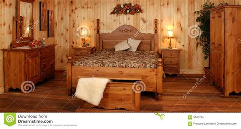 Pine Wood Bedroom Furniture Pine Wood Bedroom Set Stock Photo Image Of Glaze 5145794