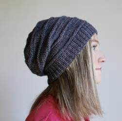 free pattern friday favorite knit slouchy hat by