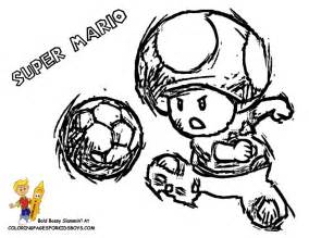 mario mushroom coloring pages related keywords