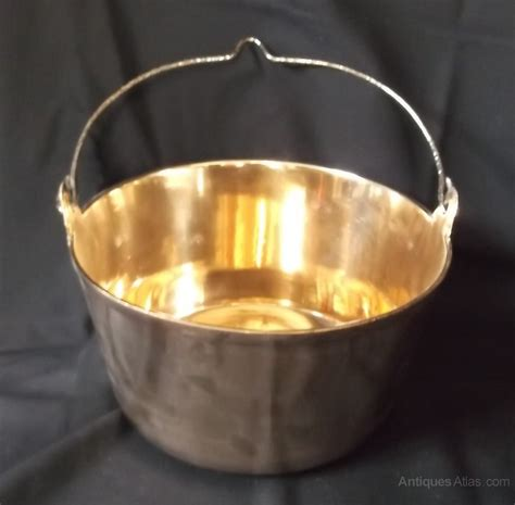 antiques atlas antique brass jam pan