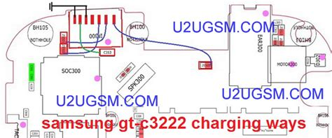Usb Cas Samsung Connector Usb Charger Samsung C3222 S5360 1 samsung ch t 322 charging solution usb jumper ways