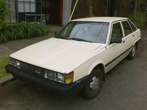 1983 toyota camry parked cars 1983 toyota camry 5 door liftback