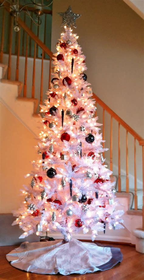 white christmas trees dream home furnishings