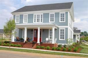 blue house exterior colour schemes exterior house paint color schemes