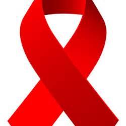 Red aids awareness ribbon vector freevectors net