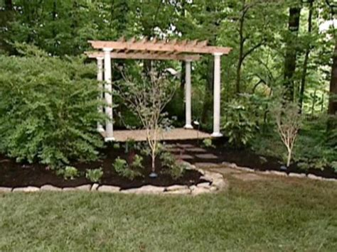 How To Build A Backyard Swing Pergola Designs Amp How To Build A Pergola Hgtv