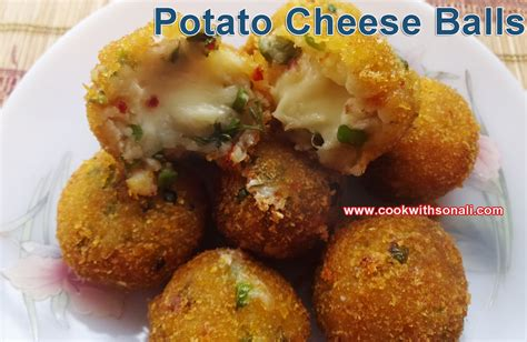 potato cheese balls quick easy simple snacks recipe cheese balls by cook with sonali easy