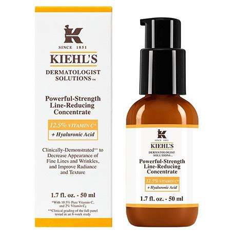 Serum Vit C Kiehl S kiehl s powerful strength line reducing concentrate 50ml